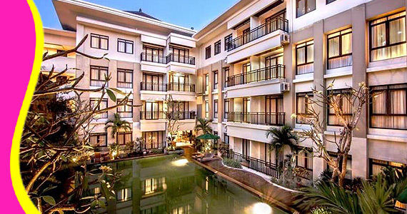 Aruna Tours Bali Come And Travel With Local Expert Grand Kuta Hotel And Residence Legian